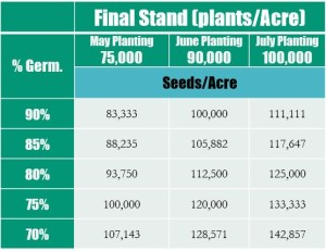 Seed Rates