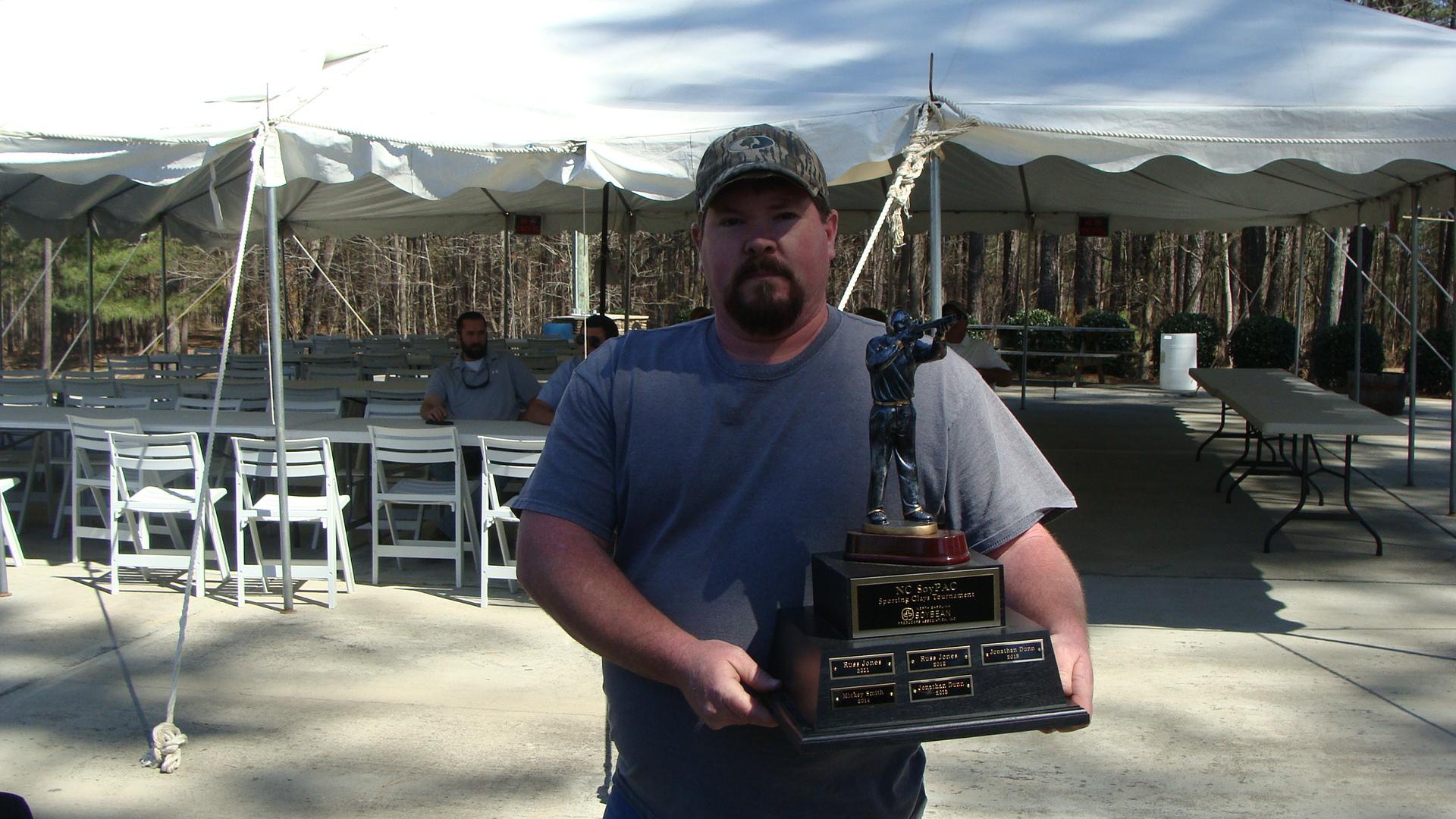 2016 Sporting Clays Tournament Winner, Jonathan Dunn
