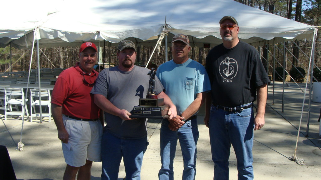 2016 Sporting Clays Winning Team