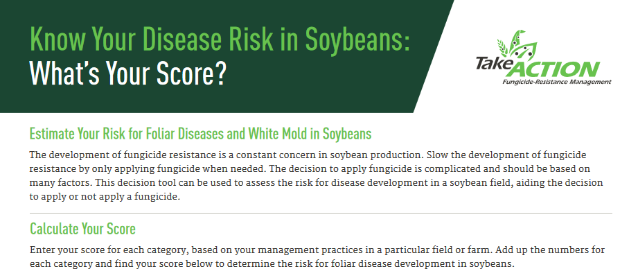 Fungicide Disease Risk Fact Sheet