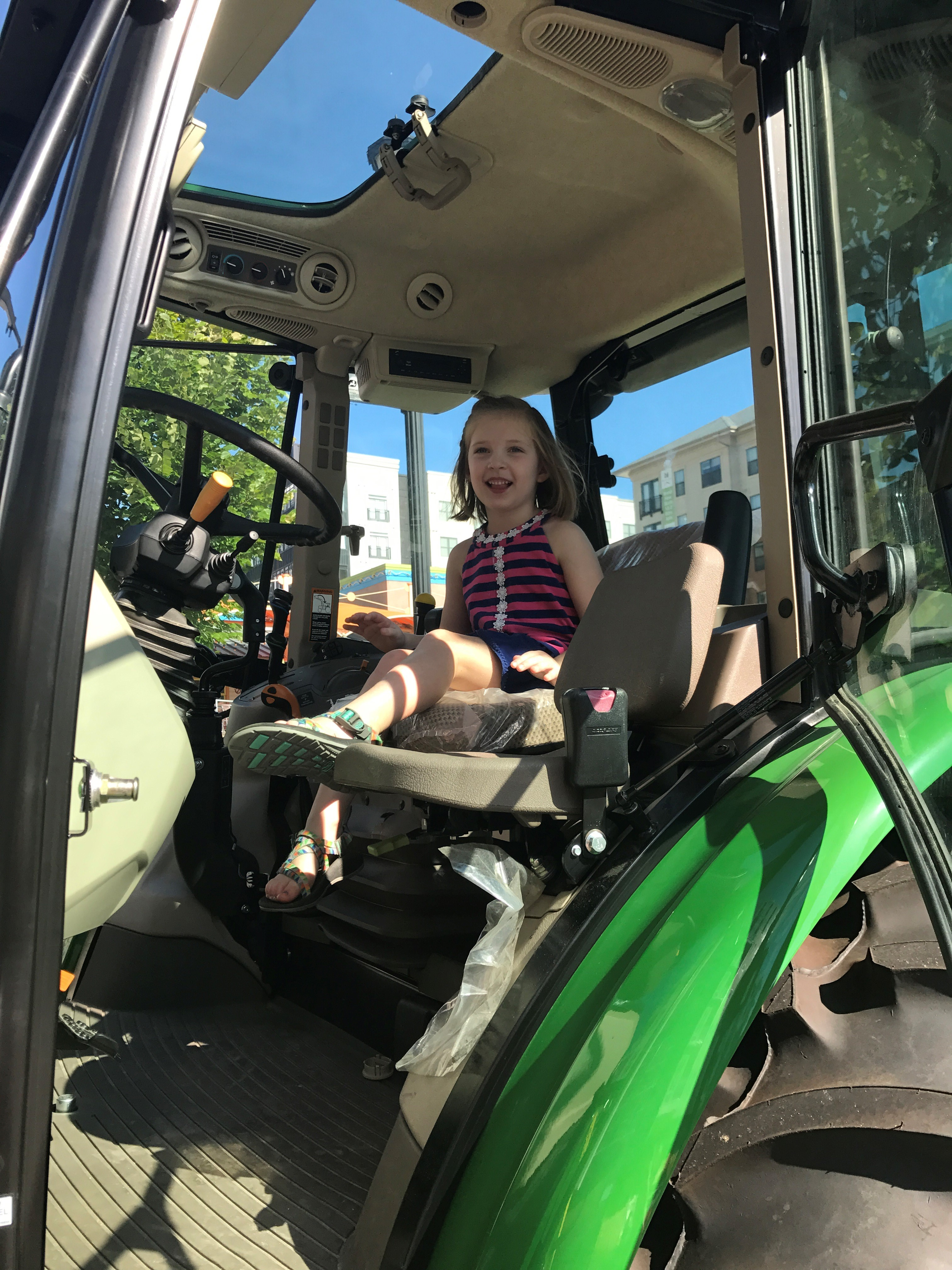 NCSPA Sponsors Touch-A-Tractor