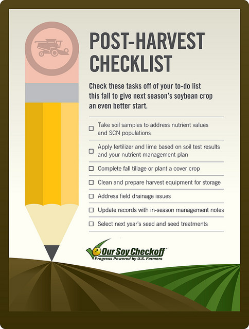 Post-Harvest Best Management Practices To Prepare for Success