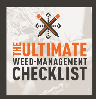 Weed Management Checklist
